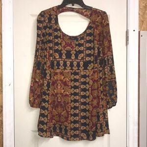 Olivaceous tunic for women small